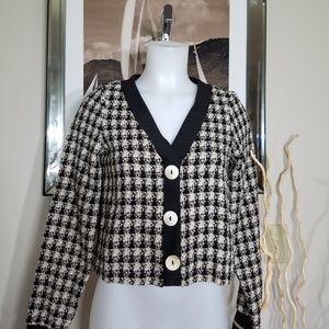 Zara Tweed Sweater Size XS
